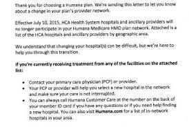call humana customer service hca hospitals humana in contract dispute health news florida