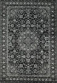 10015 dark grey oriental area rug