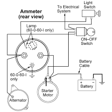 wiring instructions for 60 0 60 ammeter