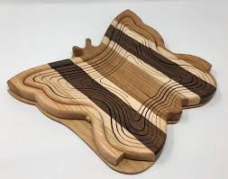 amish folding collapsible basket trivet erfly multi woods design
