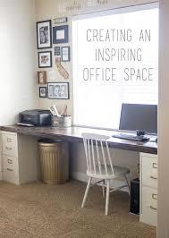 Sewing studio idea: 2 file cabinets + 1 plank = best DIY desk ever - The  Snug (Diy Furniture Desk)
