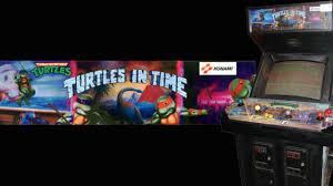 Ninja Turtles Arcade Cabinet Teenage Mutant Ninja Turtles Turtles In Time Arcade 1991