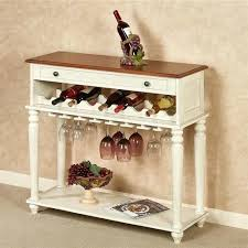 sofa table with wine storage. Wine Storage Table Ivory Coffee .  Sofa With