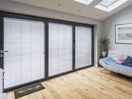 bi fold doors aluminium or upvc