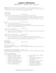 Receptionist Resume Examples Cool Samples Of Receptionist Resumes Medical Secretary Resume Samples