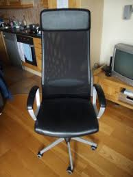 Image Furniture Ideas Used Ikea Markus Leather Office Chair In Good Condition For Sale Adverts Used Ikea Markus Leather Office Chair In Good Condition For Sale