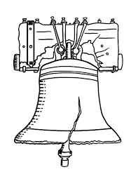 Small Picture Declaration of Independence Liberty Bell Coloring Pages Batch