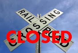 Railroad Crossing Closing Notice - City of Hanahan