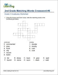 2nd Grade Vocabulary Worksheets – printable and organized by ...