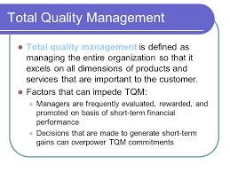 tqm conclusion chapter 6 total quality management ppt video online