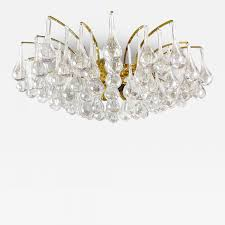 listings furniture lighting chandeliers and pendants palwa brass and teardrop crystal