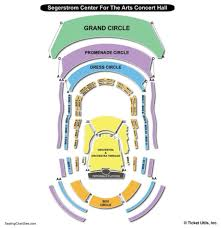 segerstrom center for the arts concert hall seating chart