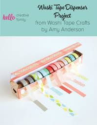 Washi Tape Easy Diy Washi Tape Dispenser Project From Washi Tape Crafts By