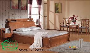Solid Wood Bedroom Furniture : China Classic Solid Wood Bedroom Furniture  (YF M8803)