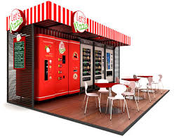 Pizza Vending Machine London Location Custom Using Paylogic Solutions In The Vending Field