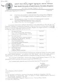 auth revised bds regulation  university notification no auth comm reg cen 01 111 2014 15 dated 12 08 2014 constitution of committee to study and report the working nature of