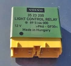volvo relays 3523200 headlight relay genuine volvo part made by stribel for 1993 97 850 1995 98 960 s90 or v90 1998 s70 v70 w o fog lights