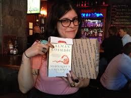 celebrating my prized autographed copy of salman rushdie s midnight s children salman rushdie