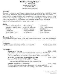 Carpenter Resume Template Fascinating Carpenter Sample Resume Carpenter Resume Template 48 Free Word Excel