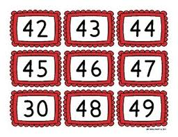 American Flag Hundreds Chart Picture Math Center Election Day Veterans Day