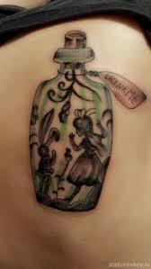 идеи эскизов татуировок из алисы в стране чудес