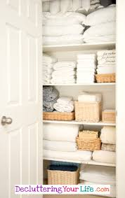 diy linen closet organization ideas for a neat and clutter free linen closet