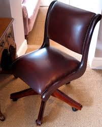 leather antique wood office chair leather antique. The Typist\u0027s Chair In Leather Antique Wood Office I