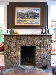 gallery pictures for stone veneer over brick fireplace