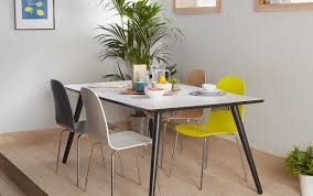 chairs dining steel membuat dunelm open plans and folding tzium for tradesman lewis legs cena table