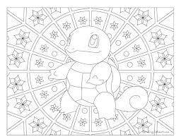 Pokemon Coloring Pages Greninja Mega Venusaur Charizard Card All
