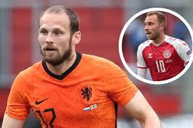 Blind admits he almost pulled out of Netherlands' Euro 2020 opener after  Eriksen hospitalisation