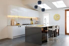 art deco kitchen lighting. Carly Leighton Contemporary Art Deco Kitchen Freedom Kitchens Caesarstone Raw Concrete (1) Lighting T