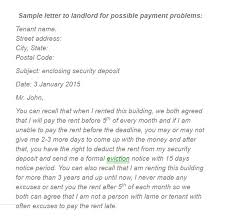 2 Unique Sample Letters To Tenants For Payment 3goodman Business