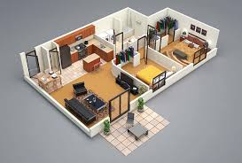restaurant kitchen layout 3d. 3 Bedroom House Floor Plan 3D Amazing Architecture Magazine Restaurant Kitchen Layout 3d A
