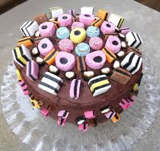 Liquorice Allsorts Cake Designs Liquorice Allsorts Celebration Chocolate Fudge Cake