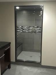frameless single shower doors. View Larger Image · Single Swing Frameless Shower Door Doors