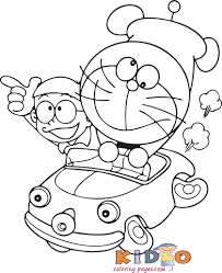Browse your favorite printable doraemon coloring pages category to color and print and make your own doraemon coloring book. Doraemon And Nobita Colouring Pages Kids Coloring Pages