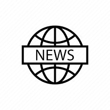 Global news, media, news, news channel, news website, sports news, world news  icon - Download on Iconfinder