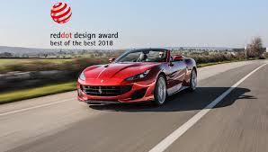 Best Car Design Award 2018 Ferrari And The Red Dot Design Awards Tofm