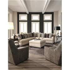 Huntington House 7100 Contemporary U Shape Sectional Sofa with