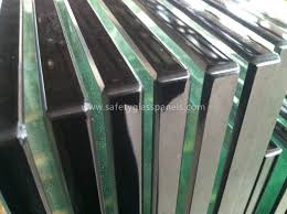 heat strengthened 10mm pvb laminated glass interior doors safety glass