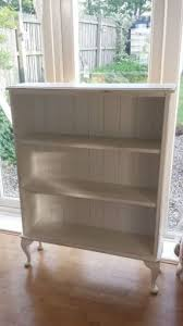 chic office furniture. shabby chic painted pine bookcase queen anne legs annie sloan old white office furniture r