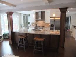 Kitchens With Columns Crafty Design Ideas 16 Dining Room Traditional Kitchen  Kitchen Islands With Columns.