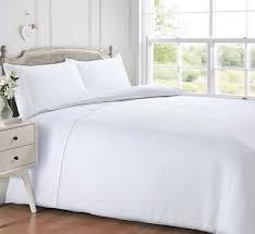 white colour waffle honeycomb plain contemporary duvet cover set luxury bedding 12309 1 p jpg