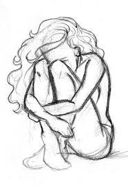 hand holding mirror drawing. beautiful but sad drawing of a girl hand holding mirror