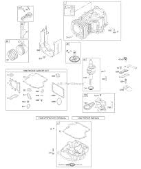 Briggs and stratton 283h07 0197 e1 parts diagram for camshaft
