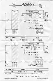 Miller 7784 and 7785 535-1620 KHz RF Transformer