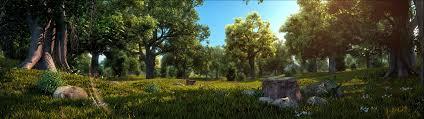 forest scene 9 3d model max 1 ...