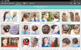 Hairstyle Names For Women cute girls hairstyles android apps on google play 2392 by stevesalt.us