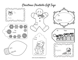 Save your money by using these free printable christmas tags for your gifts this holiday season. Free Christmas Gift Tags To Color Cultured Palate